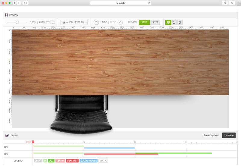 Cлайдер для сайта desk